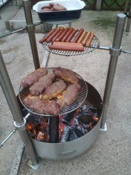 Stainless Steel Campfire Pit