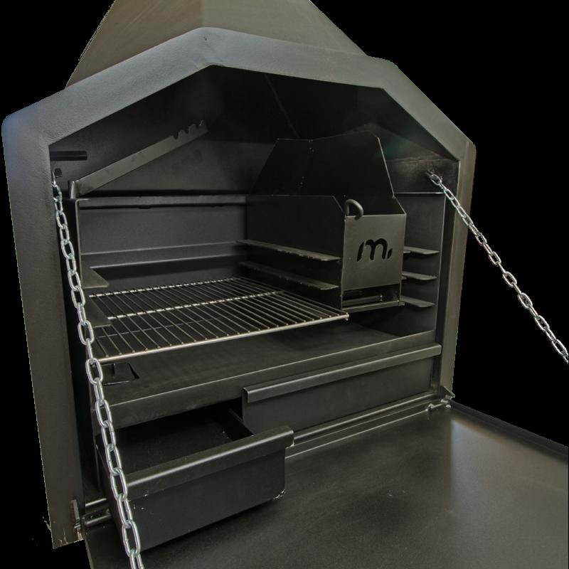 The Megamaster 800 braai is the open fire winner 2017