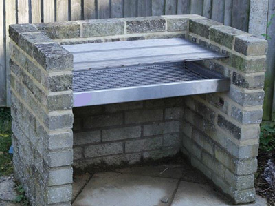 How To Build A Brick Bbq Grill In Stainless Steel