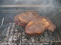chargrilled ribeye steak