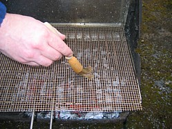 Barbecue Fish Mat from Amazon