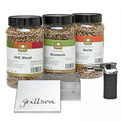The complete Grillson cold smoking kit