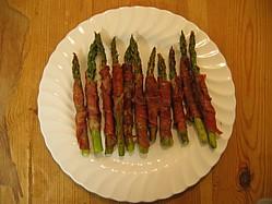 Asparagus with Serrano Ham