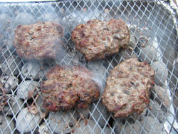 Bacon Barbecue Hamburger Recipe With Mushrooms