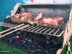 Grilled Lamb Shoulder