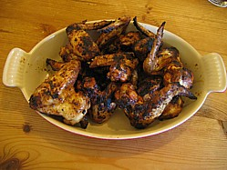 Tex Mex BBQ Chicken Wings