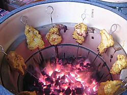 A Kamado Ceramic Barbeque Can Mimic A Tandoor