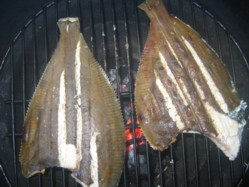 Fish directly on the grill grate