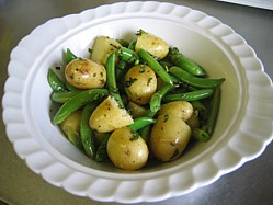 Minted Pea and Potato Salad