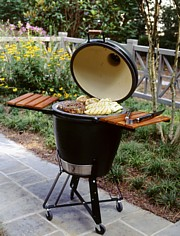 Does a kamado eliminate the charcoal or gas debate?