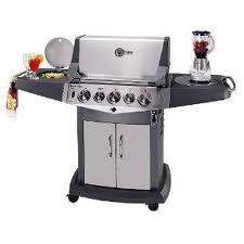 The Blue Ember gas grill