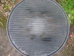 Cadac Handichef skottel cast iron plate