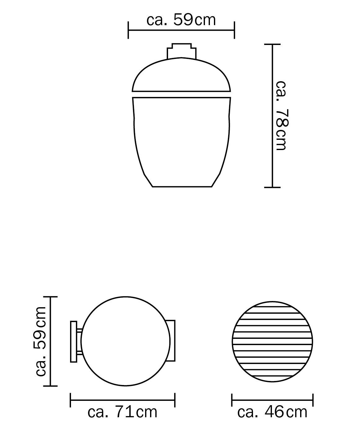 Monolith Classic dimensions
