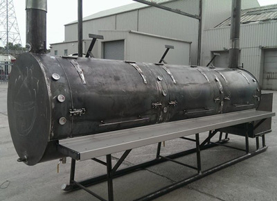 American Style Commercial Smokers Uk Built Barbecue Trailers