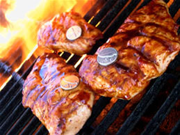 Grill Charms, the ultimate in unique grilling gifts.