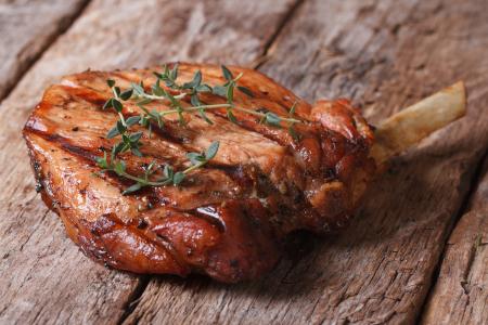 Grilled Pork Rib Chop