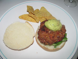 Mexican Grilled Turkey Burger