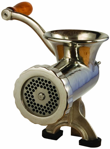 Example of a meat grinder