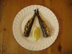 Simple Grilled Sardine