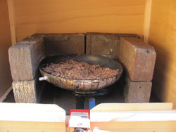 Homemade Smoke Generation Using An Old Frying Pan