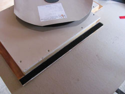 Velcro Loop Provides The Ideal Smoke Seal For Homemade Smokers