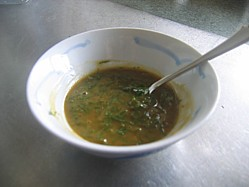 One of my 3 honey barbecue sauce recipes, this one contains mustard and fresh dill