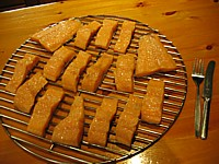 Image Of Hot Smoked Salmon Fresh Out Of The Smoker