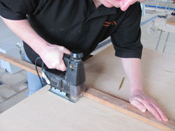 How to Cut Plywood Using a A Straight Edge