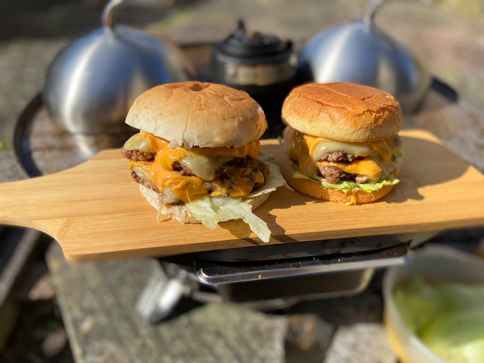 Perfect Smashed Burgers