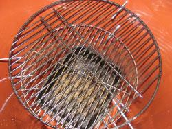 Inside A Barrel Smoker