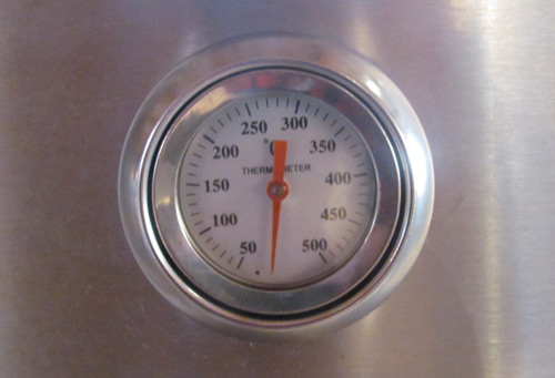 Jensen outdoor bbq grill thermometer