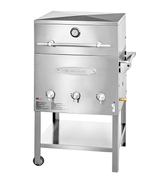 The JensenGrill Estate 1.0 is the best entry level dual fuel barbecue for 2017