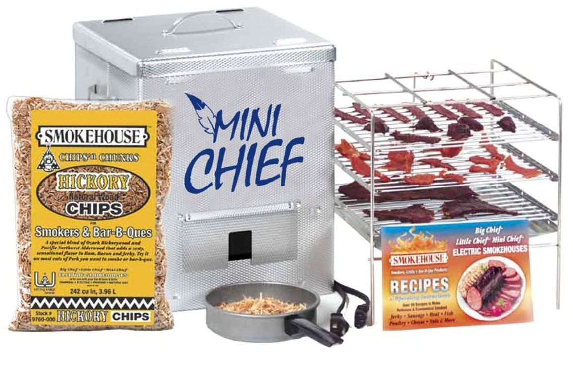 The Mini Chief electric smoker