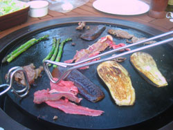 Here's my first attempt at plancha cooking
