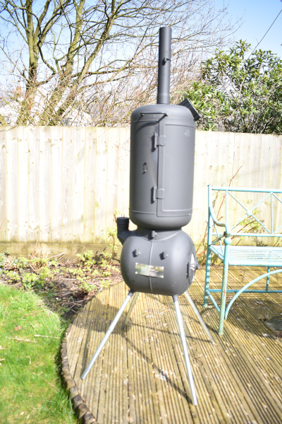 Ozpig Oven Smoker Side View