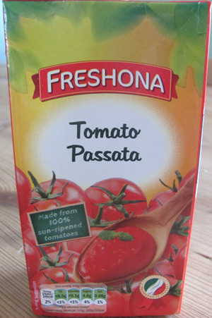 Use passata as the base for low carb barbecue sauce recipes