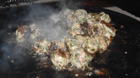 Plancha Grilled Mini Lamb Koftas