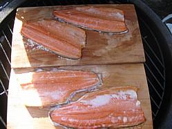 Cedar Plank Trout
