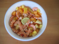Shrimp Fruit Salad Image