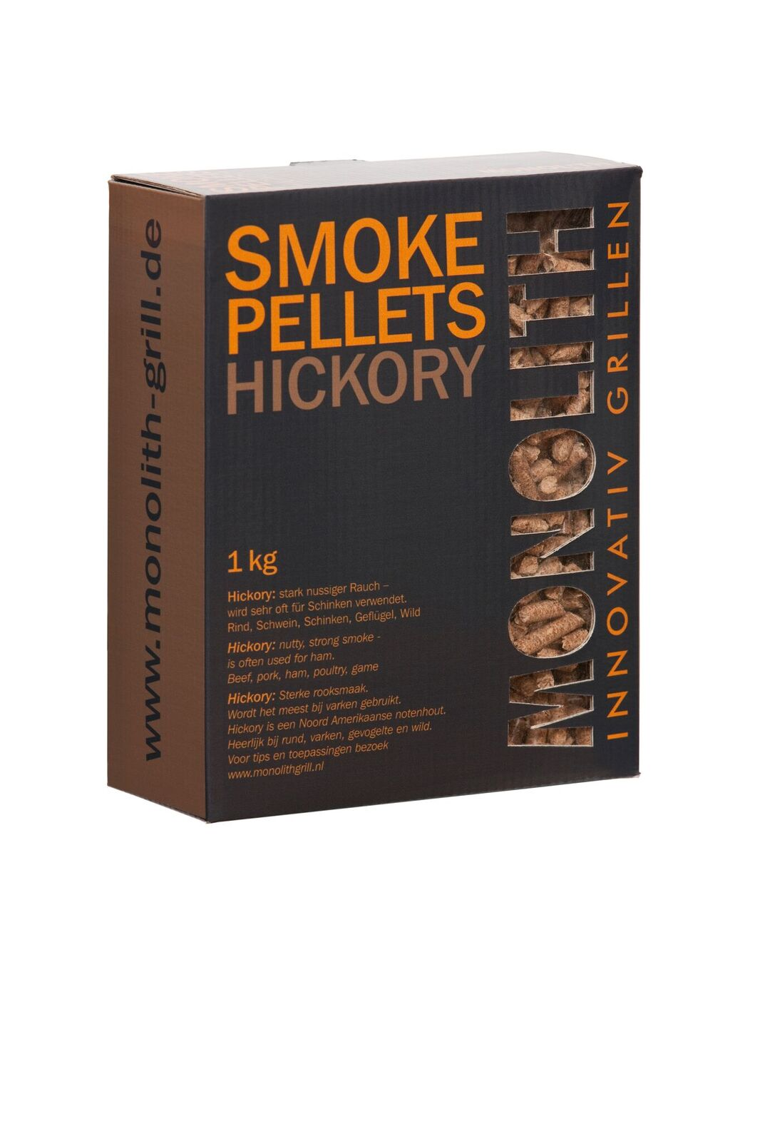 Hickory Wood Smoke Pellets 1Kg