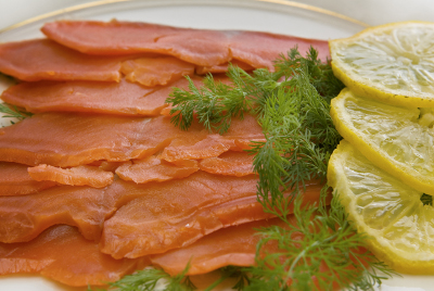 My cold smoked salmon recipe rarely gets past this stage when it comes to eating