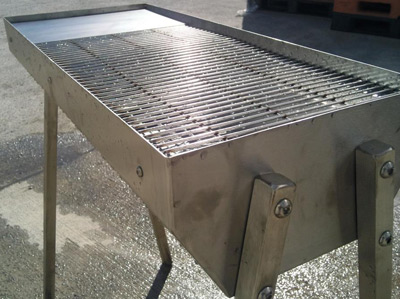Stainless Steel Charcoal Grills Commercial Grade Uk Made