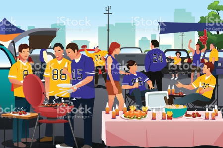 Tailgating At The Superbowl