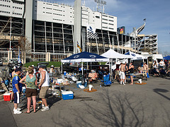 Special thanks to William F Yurasko for this tailgating picture