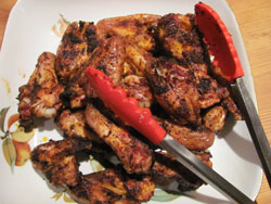 Texas Grilled Chicken Wings