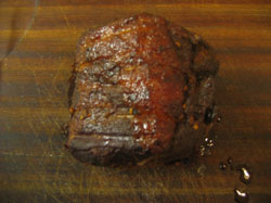 The Final Result - Beautifully Moist And Tender Texas Smoked Brisket