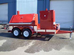 Stumps Trailer Mounted Smoker