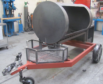 Custom Built Trailer Smokers