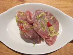 Look At The Vibrant Colors On This Tuna Steak Recipe