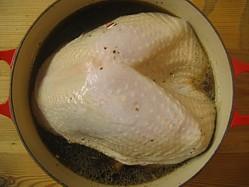 Marinading The Turkey Breast